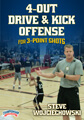 4-Out Drive & Kick Offense for 3-Point Shots